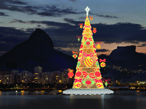 Árvore de Natal do Bradesco