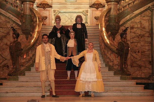 Ópera do Meio-Dia - As Bodas de Fígaro. Foto: Sheila Guimarães