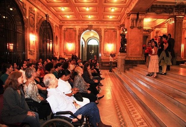 Ópera do Meio-Dia - La Cenerentola. Foto: Sheila Guimarães