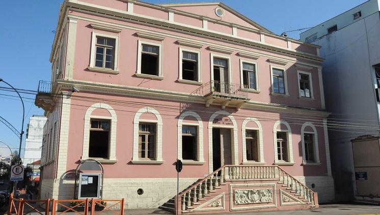 Casa de Cultura de Lajeado (RS). Crédito: Prefeitura Municipal