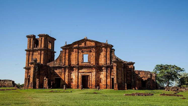 Ruínas de São Miguel das Missões. Crédito: Divulgação / Embratur