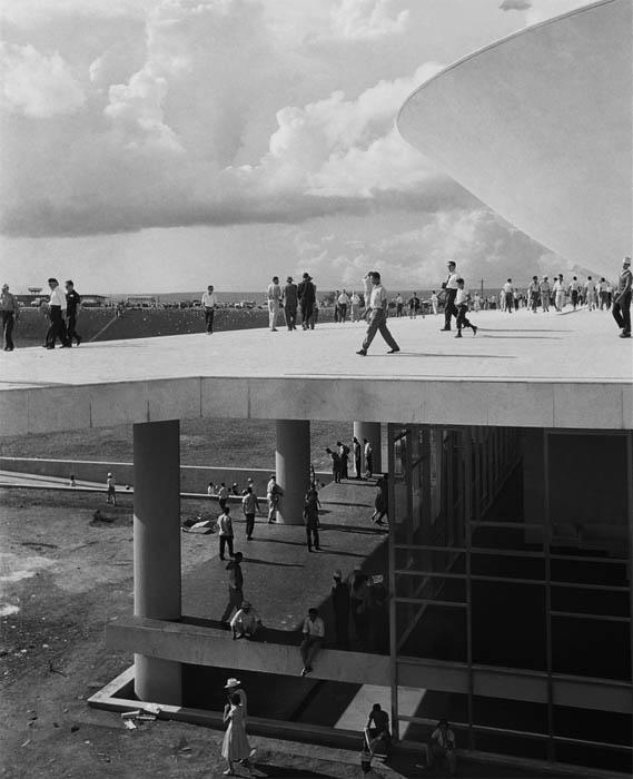 Brasília, 1960. Foto de Thomaz Farkas / acervo IMS
