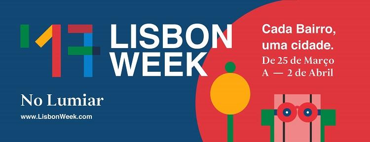 Lisbon Week 2017 acontecerá de 25 de março até 02 de abril na freguesia de Lumiar 1