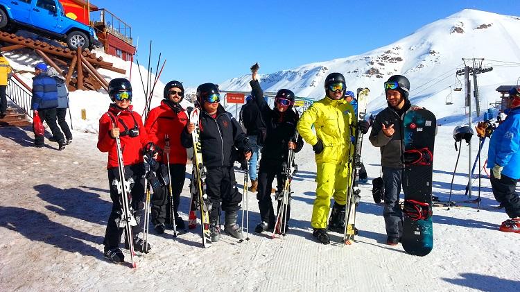Equipamentos Valle Nevado