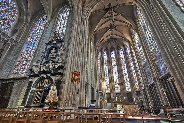 Church of Notre-Dame du Sablon, Brussels, Belgium
