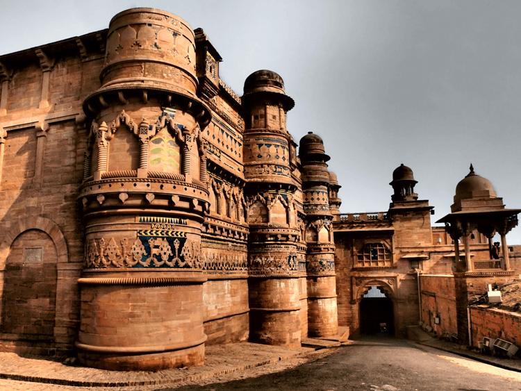 Gwalior Fort, Gwalior, India