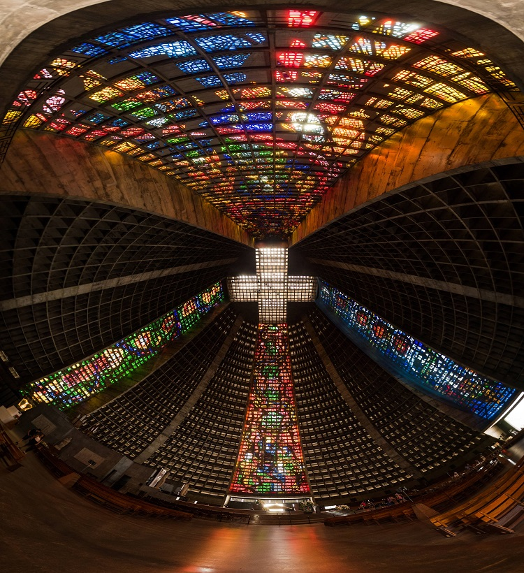Metropolitan Cathedral of Saint Sebastian, Rio de Janeiro, Brazil
