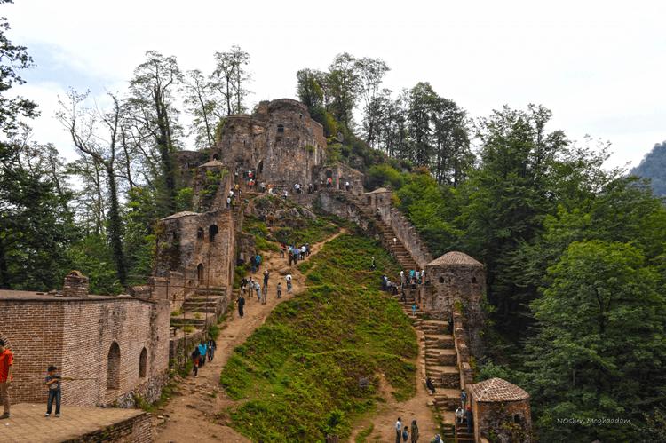 Rudkhan Castle, Gilan, Iran