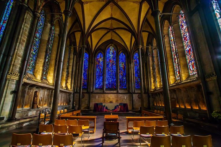 Salisbury Cathedral, Salisbury, UK