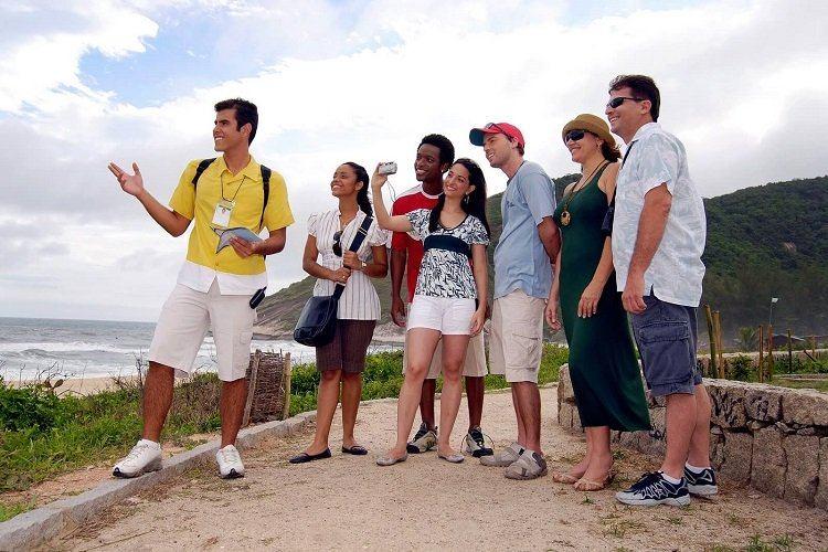 turistas estrangeiros