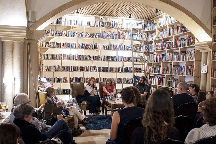 The Literary Man em Obidos durante o Folio - Centro de Portugal