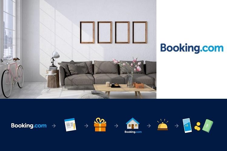Registe o seu apartamento, hotel ou hostel em Booking.com