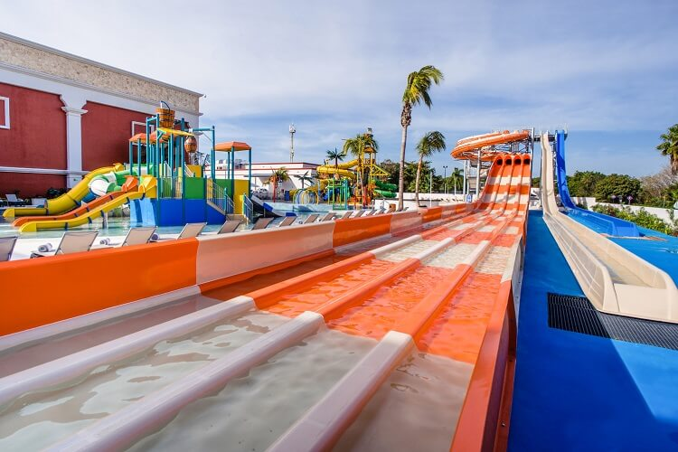 Resort no Caribe