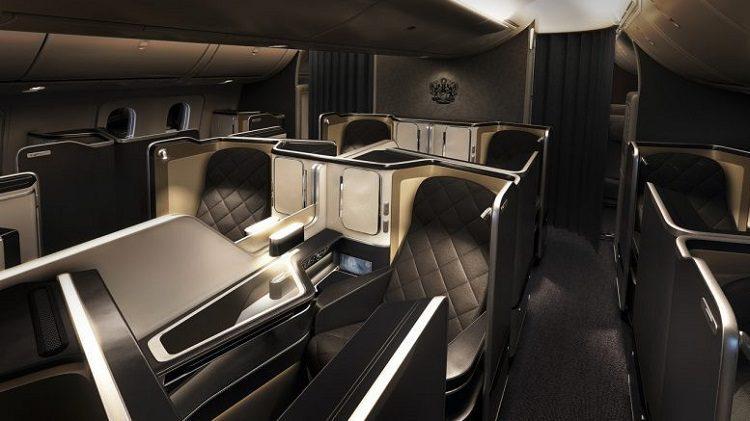 British Airways apresentou sua nova Primeira Classe