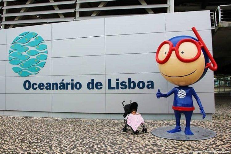 Lisboa com criança