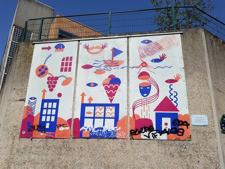 Belleville  street art
