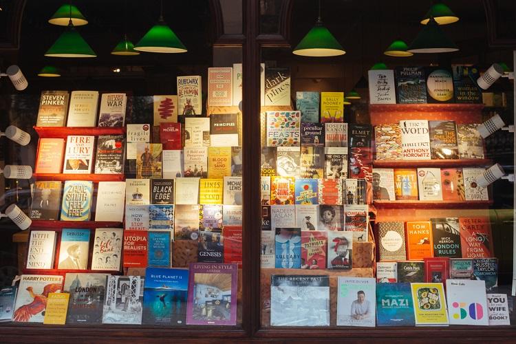 Livraria em Londres
