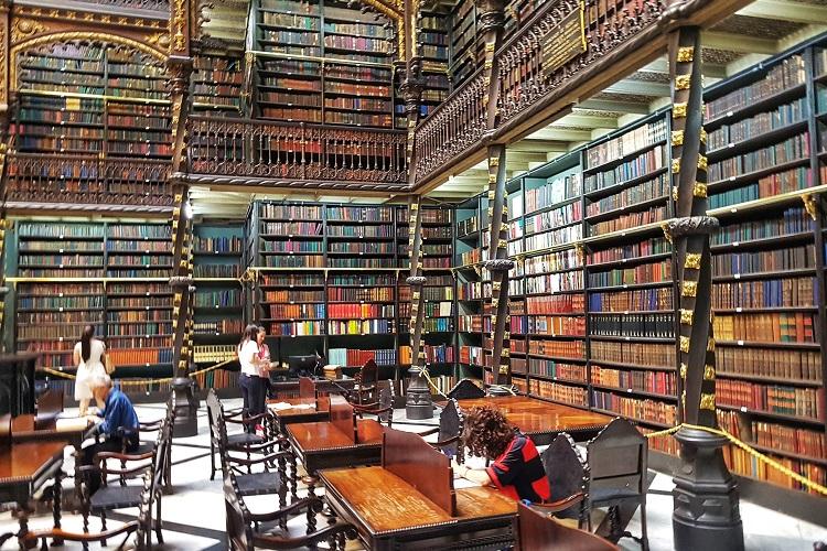 Real Gabinete Português de Leitura Foto: Naira Amorelli