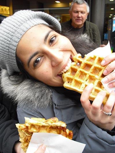 4-Waffles-em-Bruxelas,-Bélgica