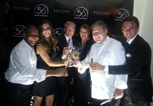 50 anos da marca Sofitel