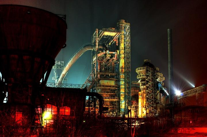 A Antiga metalúrgica, placo do festival Colors of Ostrava (Foto Lenka Jamnicka)