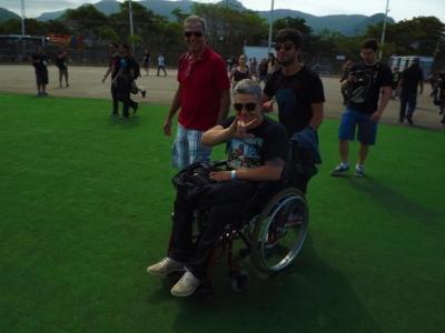 Acessibilidade ponto positivo no Rock in Rio