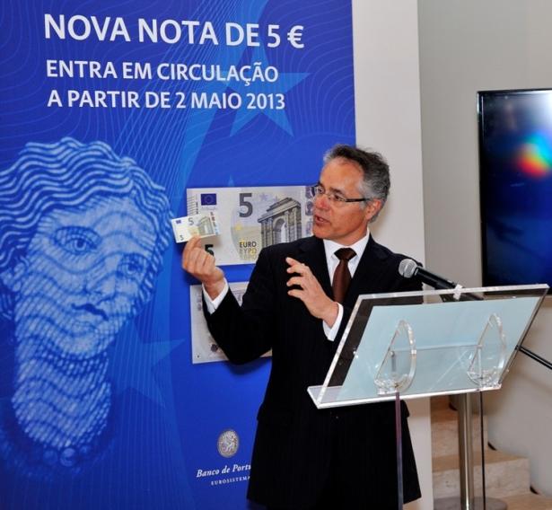 António Pinto Pereira, diretor do Departamento de Emissão e Tesouraria - CORTESIA DO BANCO DE PORTUGAL