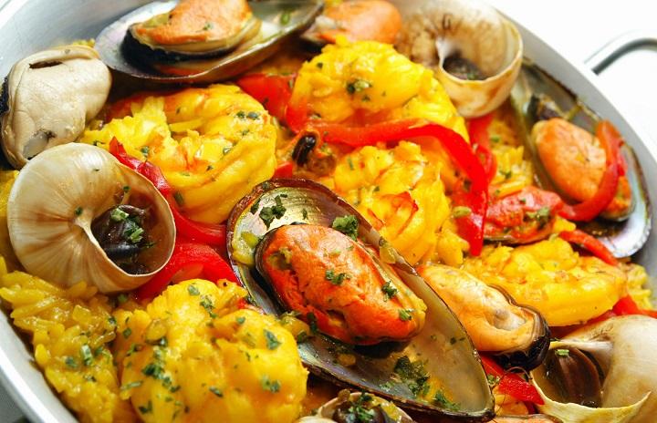 Prato Paella de Frutos do Mar. Foto: Simone Marinho