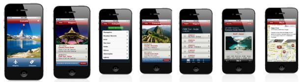 Aplicativo para viagens personalizadas