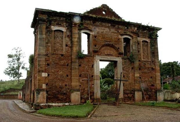 Arraial de Antônio Pereira - ruínas da matriz de Nossa Senhora da Conceição