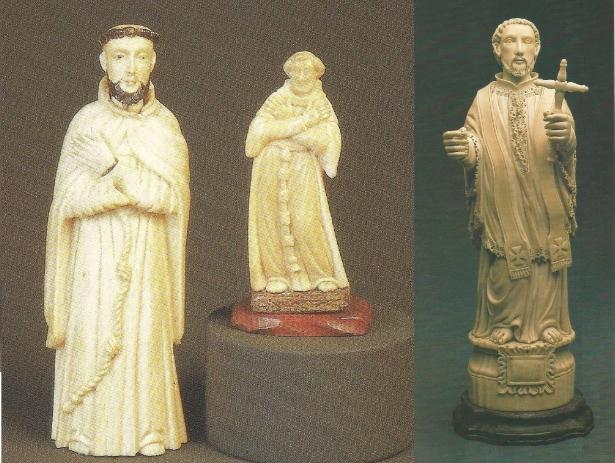Arte a serviço da fé - São Francisco de Assis - São Francisco Xavier