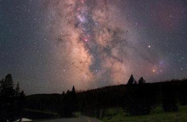 At Yellowstone National Park, USA