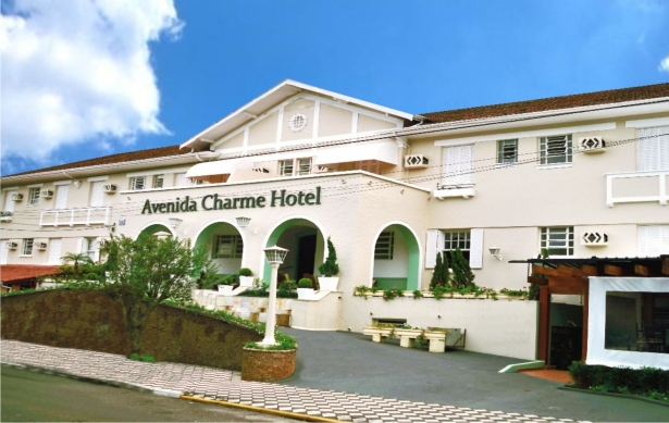 Avenida Charme Hotel, em Águas de São Pedro (SP)