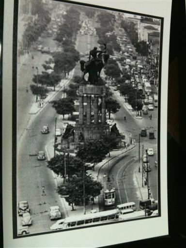 Avenida Tiradentes - Anos 50