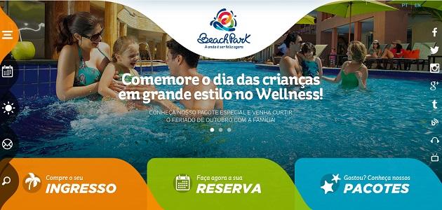 Beach Park Resort está com novo site