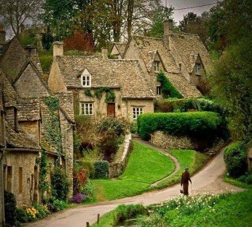 Vamos passear em um charmoso vilarejo na inglaterra - Inglaterra en casa ...
