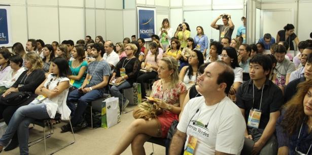 Blogueiros na ABAV 2012 - Foto Fábio Lima - intrip.com.br