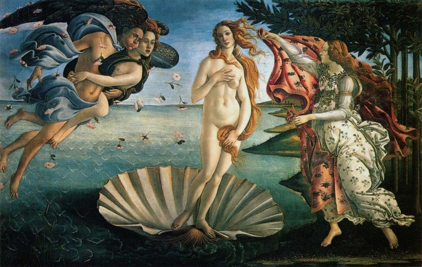 Botticelli - Nascimento de Vênus