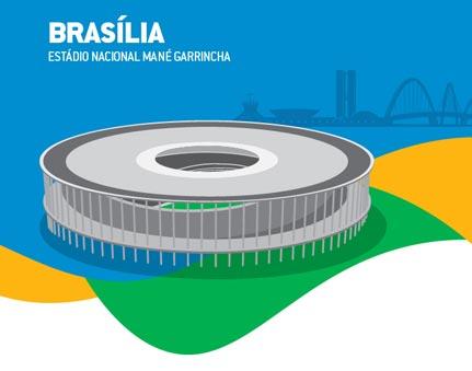 Brasília -Estádio Nacional Mané Garrincha