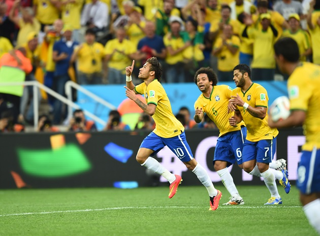Brasil x Croácia. Foto: Getty Images