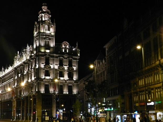 Budapeste a noite