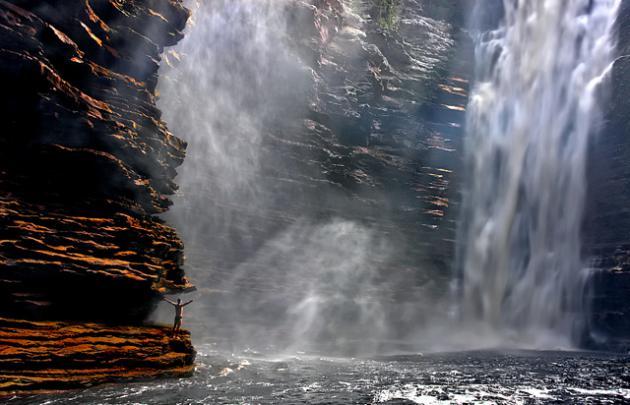Cachoeira do Buracão chapada