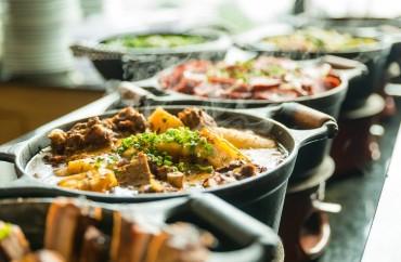 Buffet comida mineira. Foto: Filico