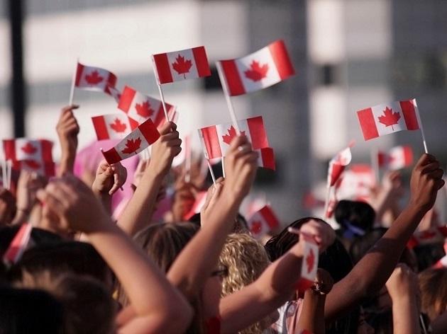 Canadá bandeiras