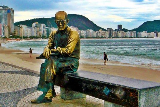 Carlos Drummond de Andrade - Praia de Copacabana