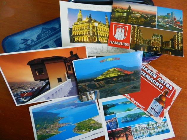 Cartões-postais