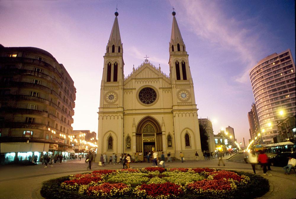 Catedral Basílica Menor de Nossa Senhora da Luz de Curitiba - Créditos SETU  Paraná Turismo