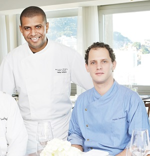 Chef Willians Halles e Chef Pablo Andrés