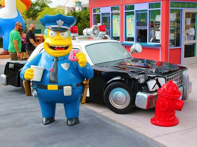 Clancy Wiggum é o chefe de polícia da cidade de Springfield, da série animada Os Simpsons.