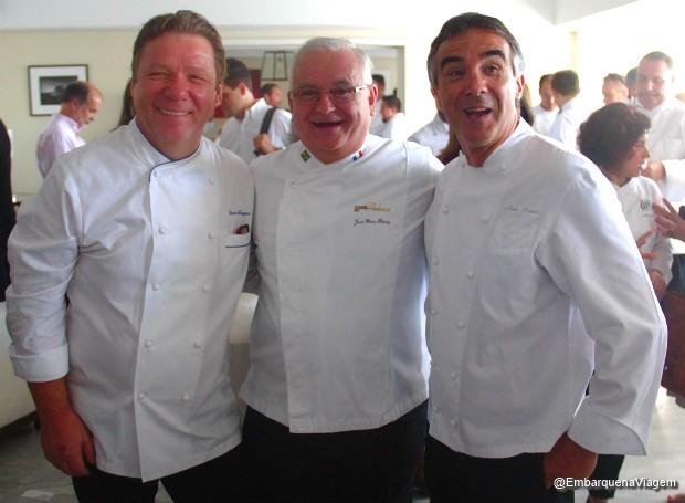 Claude Troisgros, Jean Yves e Alain Poletto